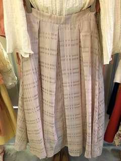 Cavn 格紋傘裙