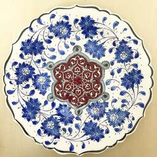 ID3 Turkish Ceramic Plate High Quality