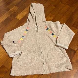 2Y NEW Zara Hoodie Jumper Zipped Sweater