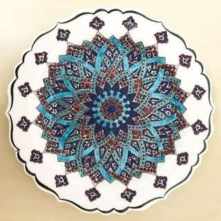 ID2 Turkish Ceramic Plate High Quality