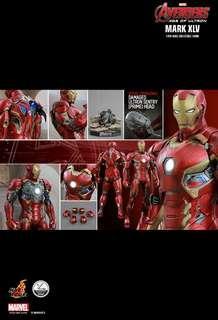 全新 Hot Toys Ironman AVG2 MK45 1:4 Figure #sellfaster
