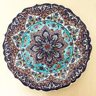 ID1 Turkish Ceramic Plate High Quality
