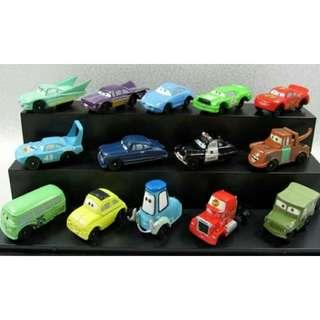[FREE MAILING] DISNEY PIXAR MCQUEEN CARS Cake Toppers / Figures / Figurines