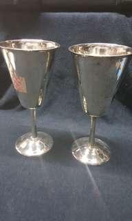 🚚 早期英國購回藏品(1)~高腳銀杯