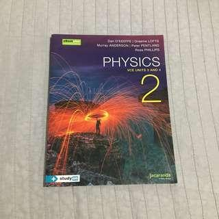 Jacaranda Physics 2 Unit 3&4 Textbook