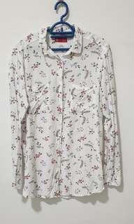 Floral white blouse-padini