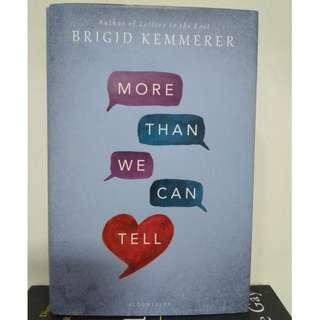 [English Book] More Than We Can Tell by Brigid Kemmerer