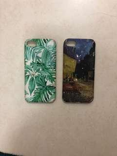 IPHONE 8 Cases (2 for 50)