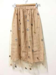 🚚 唯美七分紗裙