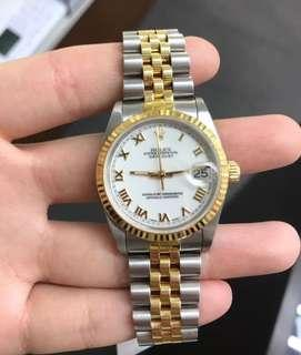 Rolex Oyster Datejust Two-Toned Junior Year 1993-1994 Very Good Condition  #rolex #luxurywatch #watchcollector #aparadoor #aparadoortime #aparadoorluxury