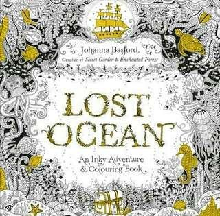 The Lost Ocean Adult Colouring Book
