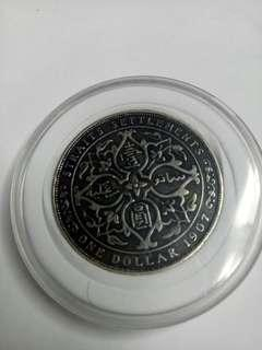 1907 $1dollar