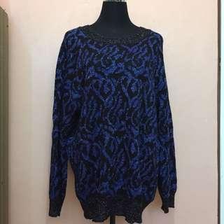 Cotton Knit Sweater Dress