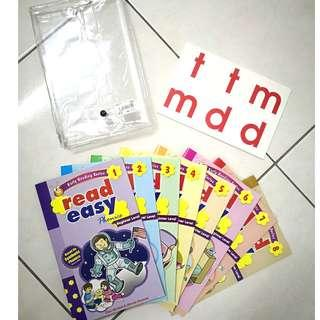Pre Loved Read Easy Phonics - Beginner Level (8 books)