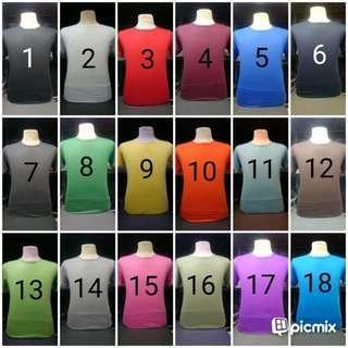 Kaos soft cotton 30s (M,L,XL)