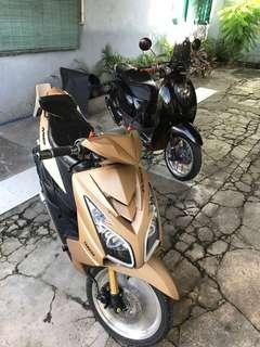 mio and honda scooters