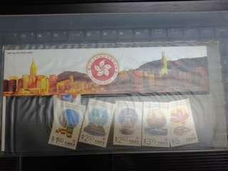 多款香港紀念郵票 首日封