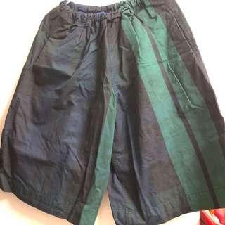 🚚 Olivo 經典格寬褲