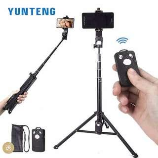 YUNTENG 1688 3in1 Bluetooth Remote Shutter Handle Selfie Stick Mini Table Tripod For IOS Android Iphone Samsung Smartphone Gopro