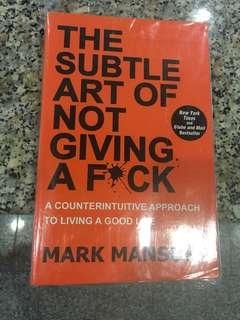 🚚 The subtle art of not giving a f*** by Mark Manson