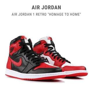 """013c0c75f976d4 Air Jordan 1 Retro """"Homage To Home"""""""