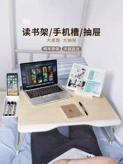 床上小桌子 折疊電腦桌 床上小桌板 筆記本 懶人多功能書桌 飄窗桌 學習書桌