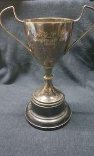 🚚 早期英國購回藏品(9)~古董銀冠軍杯