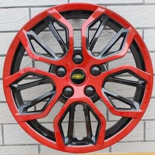 """Restocked w New Bright Red! Selling Fast 15"""" Toyota Hiace Nissan NV350 Rim Cover"""