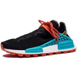 Adidas Originals PHARRELL WILLIAMS SOLARHU NMD SHOES Black