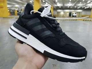 ADIDAS ZX 500RM BLACK FOR WOMEN SIZE 36-40  FOR MEN SIZE 41-46