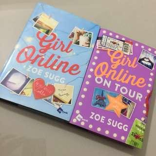 HARDBOUND GIRL ONLINE, TWO BOOKS FOR PHP600