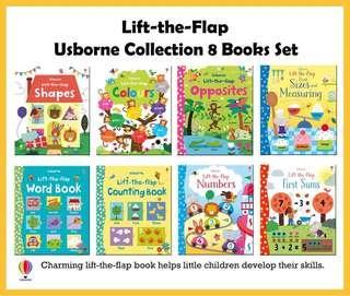 Usborne lift the flap books series