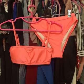 Ete Style pink lemonade swimwear