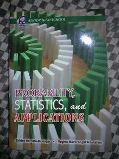 Probability, Statistics and Applications