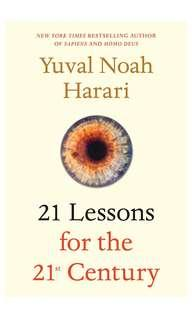 """🚚 """"21 Lessons for the 21st Century"""" by Yuval Noah Harari"""