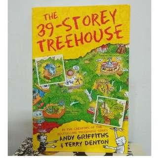 [English Book] The 39-Storey Treehouse By Andy Griffiths