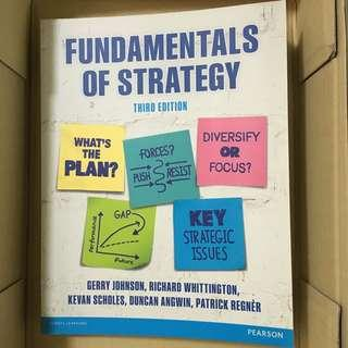 *全新*Fundamentals of Strategy 3rd edition