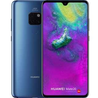 Huawei Mate 20 Brand New Unopened from Singtel (Midnight Blue) Going for Low