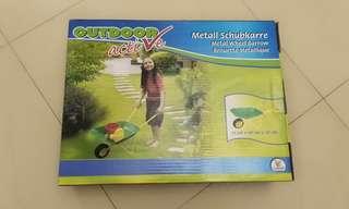 金屬製園藝玩具盛泥車