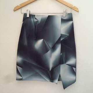 Kookai Scuba skirt size 38 excellent condition fits small