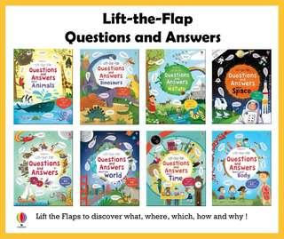 Usborne Questions and Answer Series