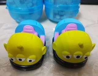 🚚 迪士尼 玩具總動員 迴力車 三眼怪換熊抱哥