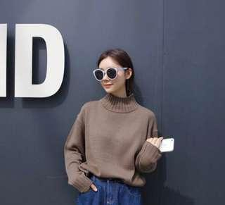 Korean turtle neck sweater