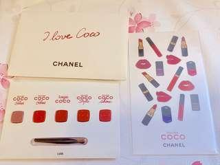 Chanel Coco Gloss Sample & Sticker