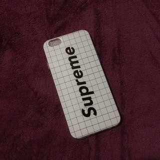 White Supreme Grid/Aesthetic iPhone 6 Case
