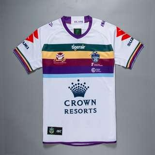 Melbourne Storm CAM TESTIMONIAL Rugby JERSEY
