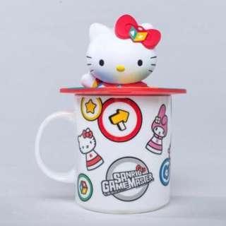 Sanrio Game Master Hello Kitty mug with 3D lid 哈囉吉蒂杯連立體杯蓋
