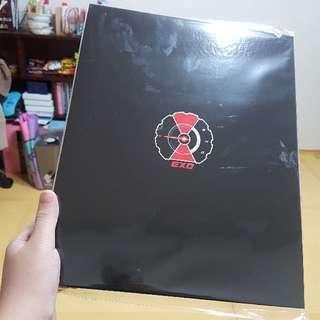 exo binder (baekhyun photocard)