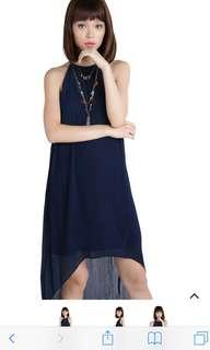 BNWT TTR DIYA DRESS IN NAVY