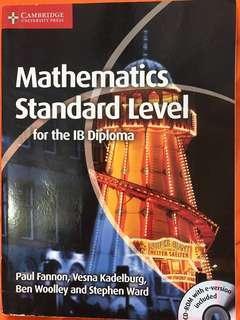 IB Mathematics Textbook Math Cambridge